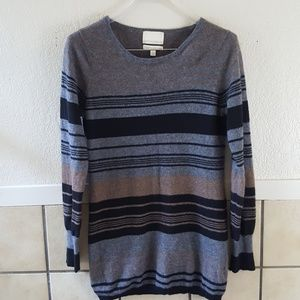 Cynthia Rowley striped cashmere sweater Large GUC